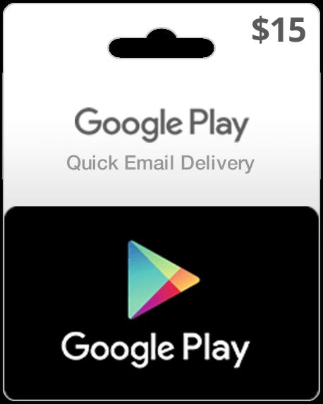 Google Play Card $15