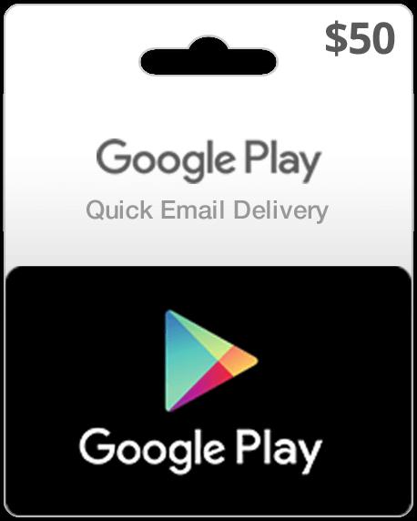 Google Play Card $50